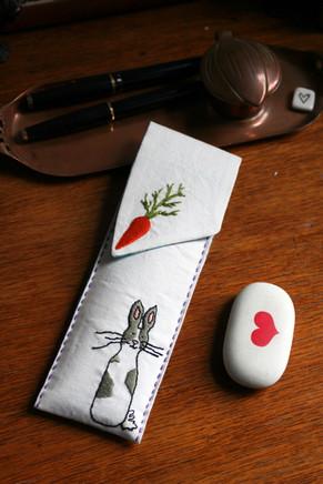 Bunny Pencil Case