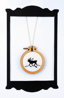 Reindeer Mini Hoop