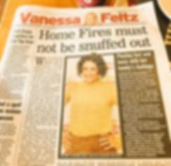 Vanessa Feltz Daily Express column 24th May 2016