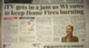 Sunday Express Home Fires Article 22nd May 2016