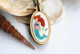 Mermaid Mini Hoop