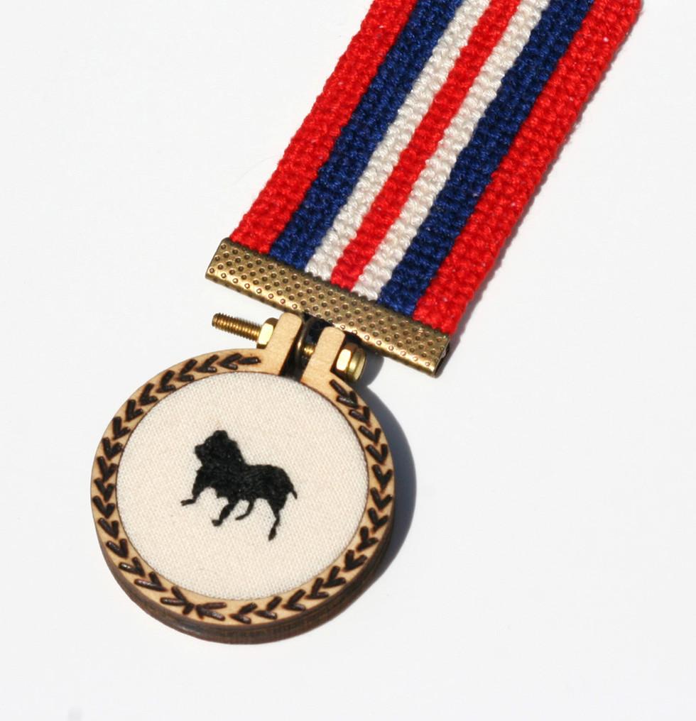 You Deserve a Medal - Order of the Black Dog (detail)