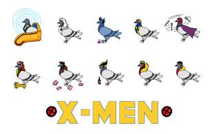 90s X-Men Coosplay