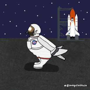 Astronaut Fred Coosplay