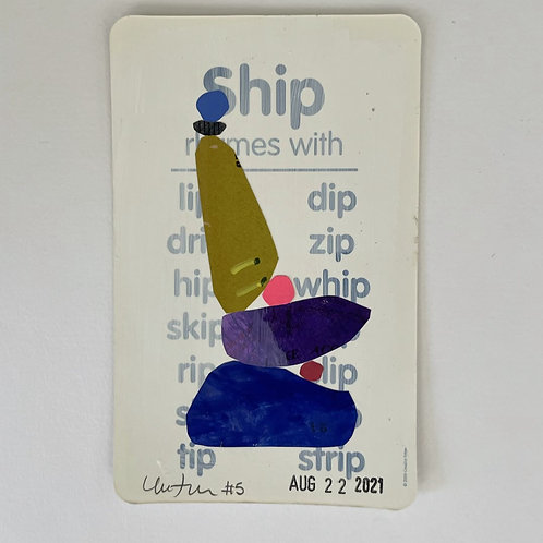 Flash Card Paper Cairn #5
