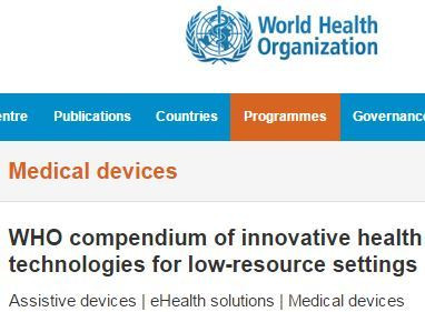 DoseRight featured in the 2012 WHO Compendium of Innovative Health Technologies