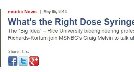 "DoseRight is a featured MSNBC ""Big Idea"""