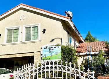 EASE installation Santa Ana Solar Incentive Program