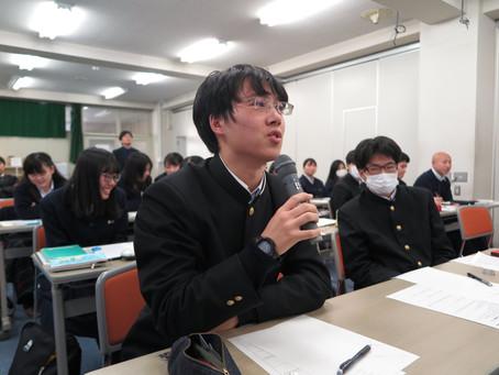 神戸商業高校出前講座レポート【高大連携】