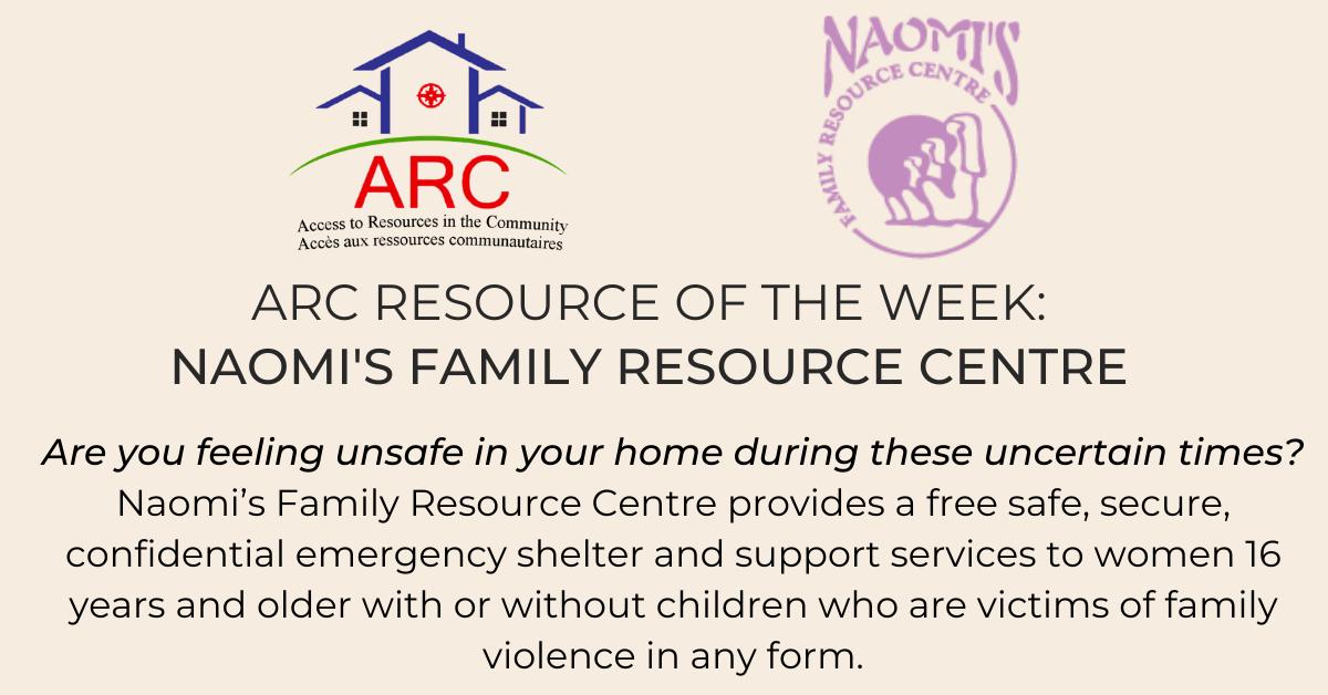 Naomi;'s Family Resource Centre Facebook