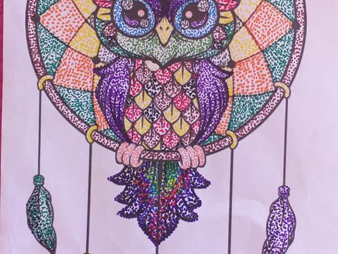 Estudiantes de 5° básico sorprenden con su hermoso arte en casa