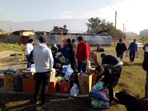 CENTRO DE ALUMNOS CIERRA CAMPAÑA DE AYUDA SOCIAL