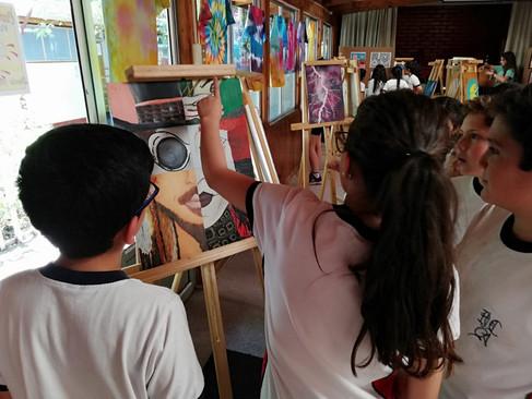 DEPARTAMENTO DE ARTES VISUALES MONTA EXPOSICIÓN 2018