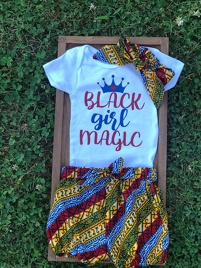 Black Girl Magic Short Set