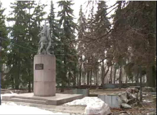 Памятник Борцам Революции в Пензе. Состояние на 2019 год