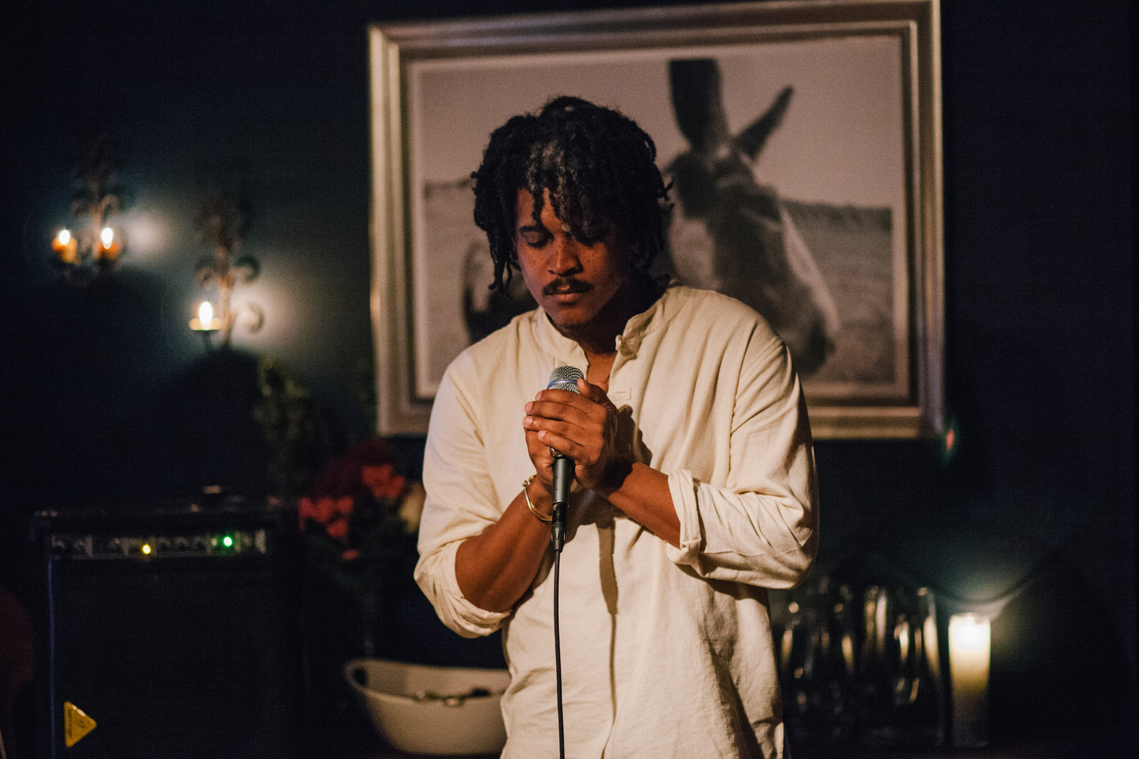 James Robinson at The Blue Room Supper Club