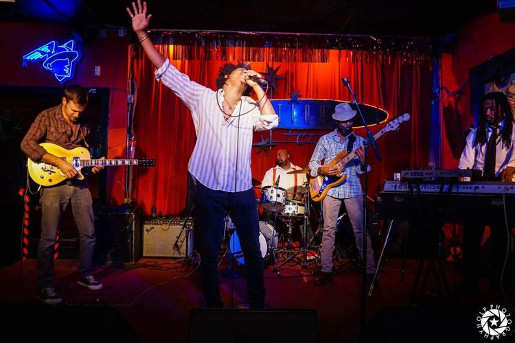James Robinson at The Continental Club, Austin TX