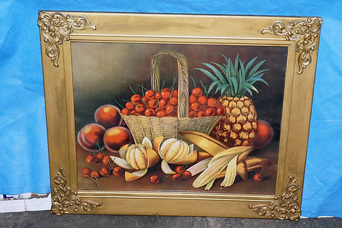 1920s Framed Fruit Print By Le Roy