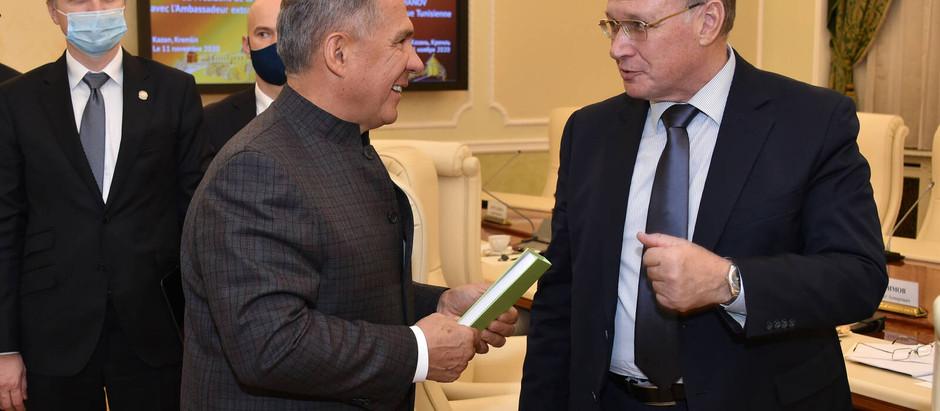 Президент Татарстана Рустам Минниханов проявил интерес к деятельности АЭССА