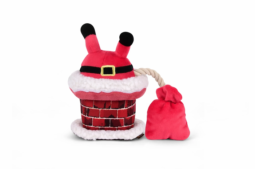 P.L.A.Y.  Christmas Clumsy Claus Plush Toy