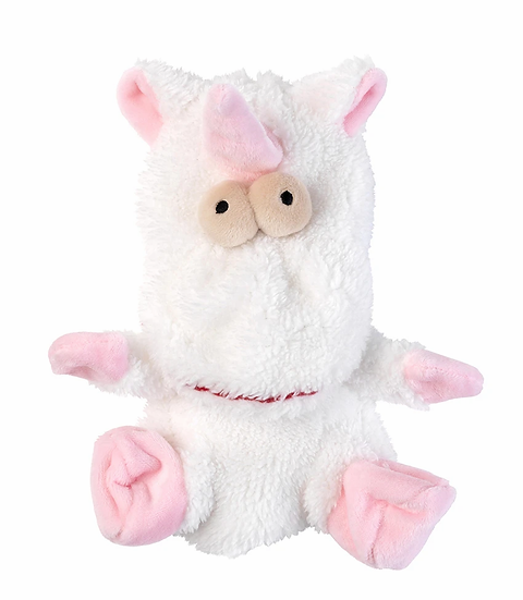 FuzzYard  Flat Out Electra the Unicorn Dog Toy