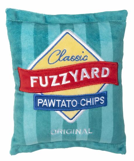 FuzzYard  Pawtato Chips Dog Toy