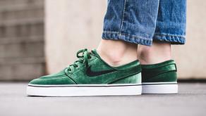"""Nike SB Stefan Janoski """"Green Velvet"""""""