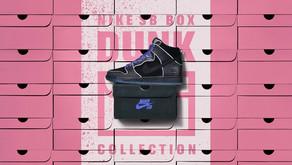"Nike SB Dunk High ""Black/Purple Box"" no Brasil"