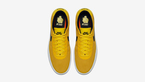 "Brian Anderson x Nike SB Bruin Hyperfeel ""Tour Yellow"" no Brasil"