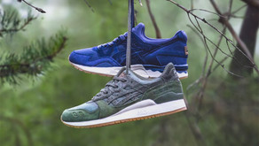 "Sneakersnstuff x Asics Gel Lyte ""Forest Pack"""