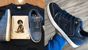 A coleção da Nike SB inspirada nos rappers Biggie e Tupac chega ao Brasil