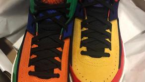 Vazadas imagens de versão Multicolor do Air Jordan 2