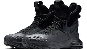 "Nikelab Zoom Tallac Flyknit ""Triple Black"" no Brasil"