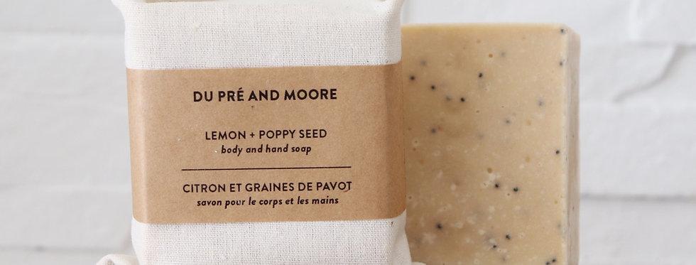 Lemon + Poppy Seed // hand & body soap