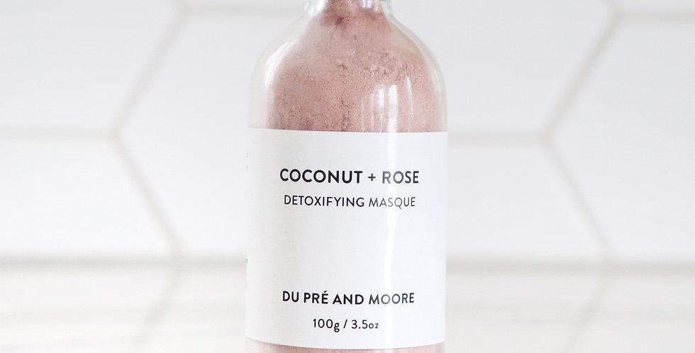 COCONUT + ROSE // masque