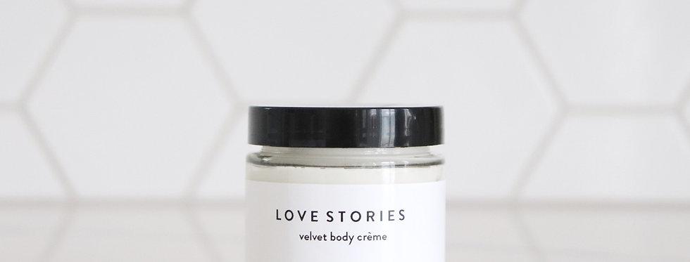 LOVE STORIES // velvet body crème