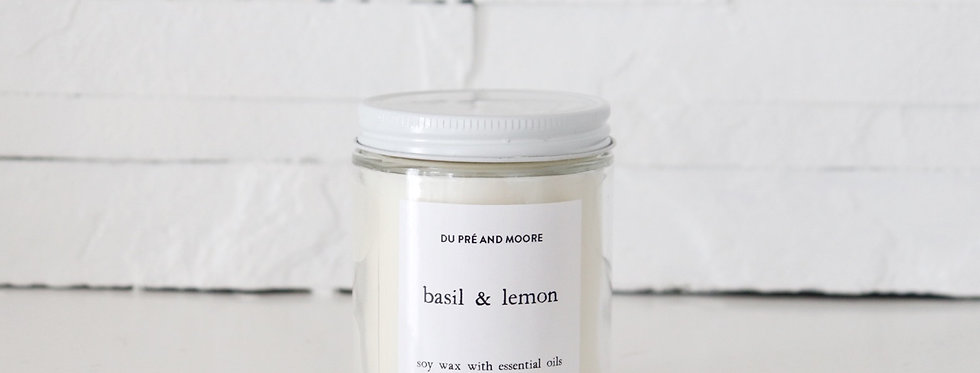 BASIL & LEMON