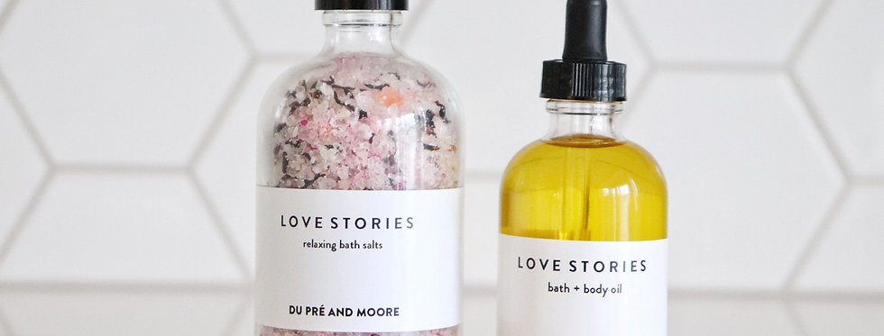 LOVE STORIES // bathing ritual