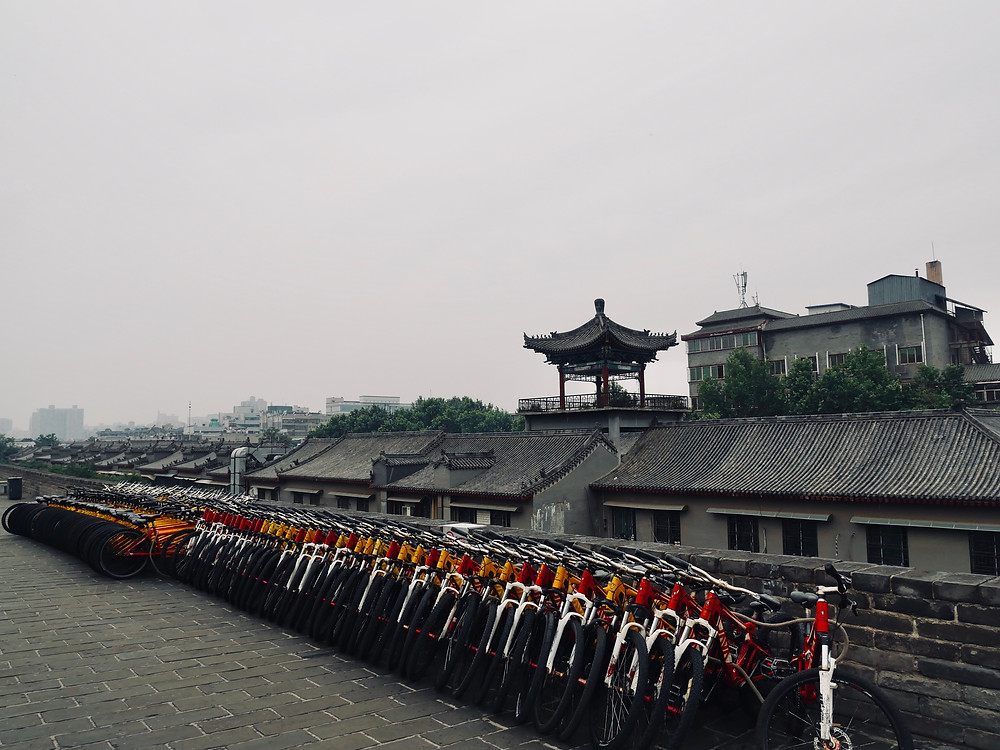 Xi An City Wall 西安城牆