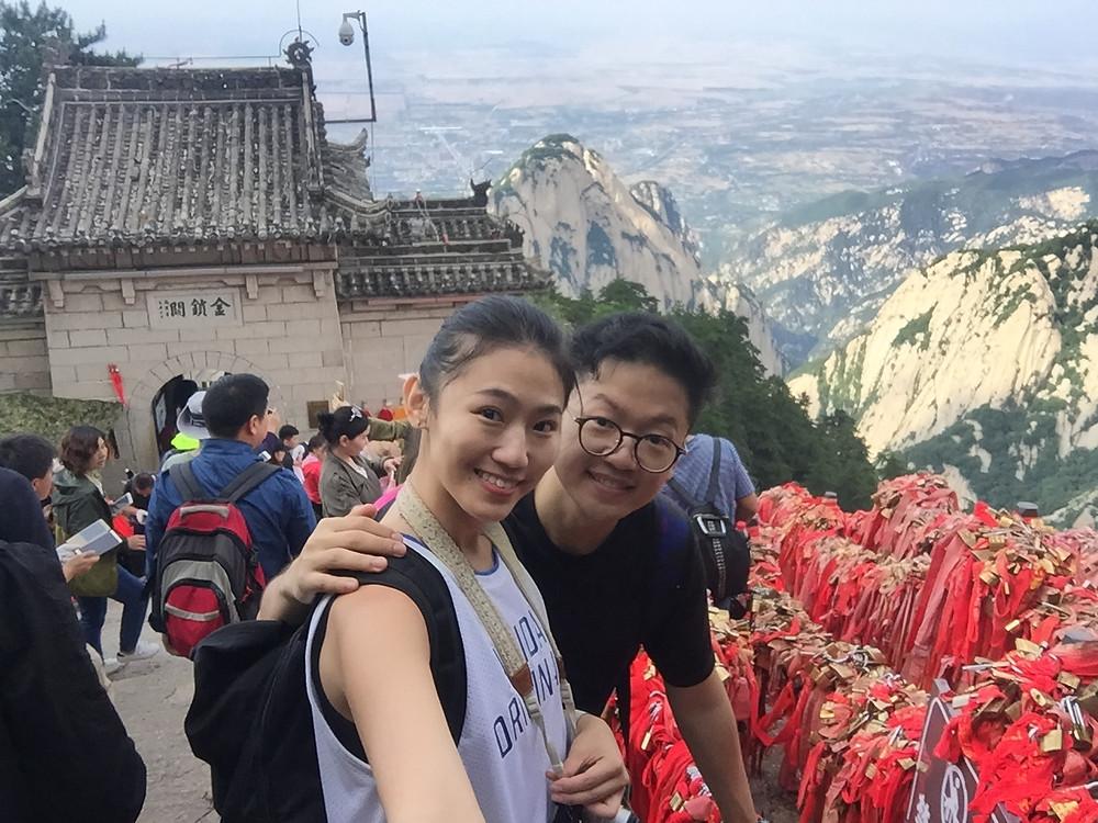 Hua Shan Jin Suo Pass