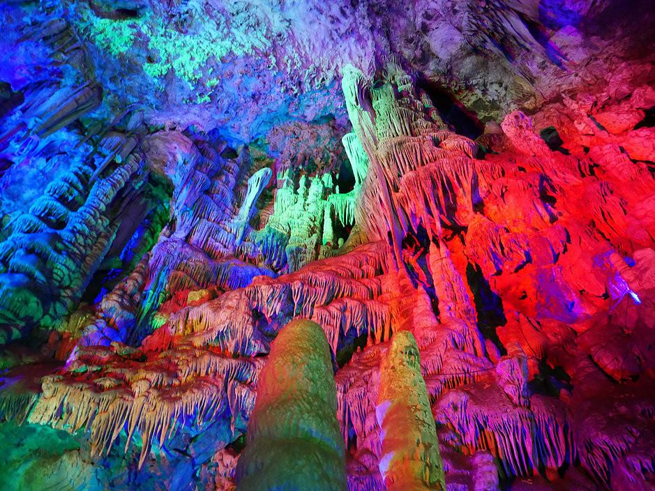 Zha Shui, Zha Shui Karst Cave.柞水 榨水溶洞