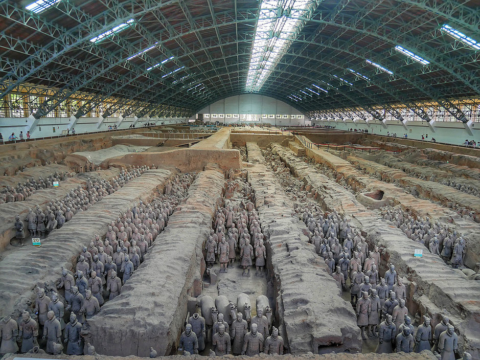 Terracotta Army, 兵馬俑