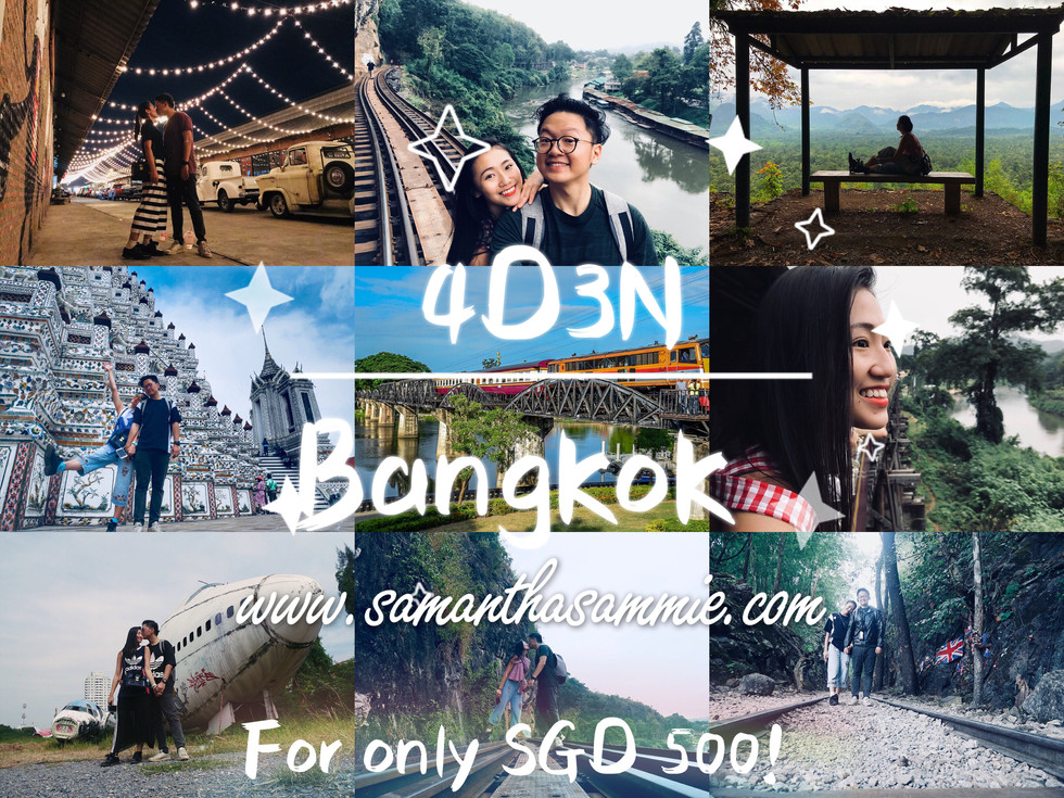 4D3N Full Itinerary In BANGKOK!