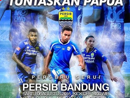 Persib Bandung goes to Serui!