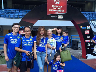 First Post! My whole Family is watching me playing for Persib Bandung!