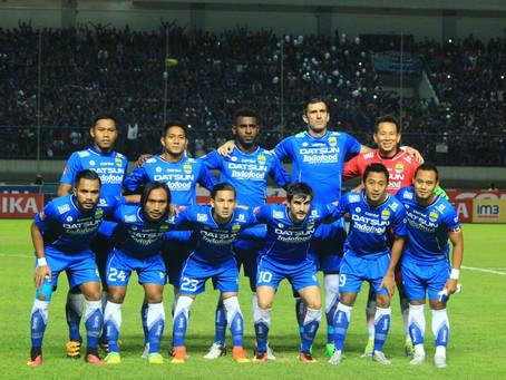 1/2 Season with Persib Bandung at the Torabika Soccer Championship