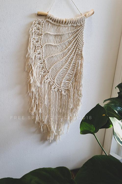 Macrame Angel Wing