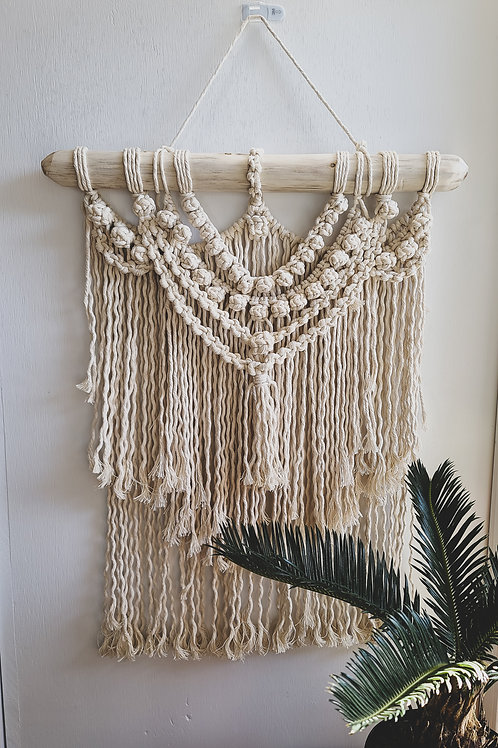 Macrame Wall Hanging - Berry Knot
