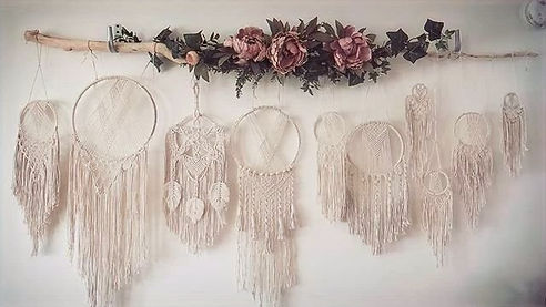 Macrame Dream Catchers