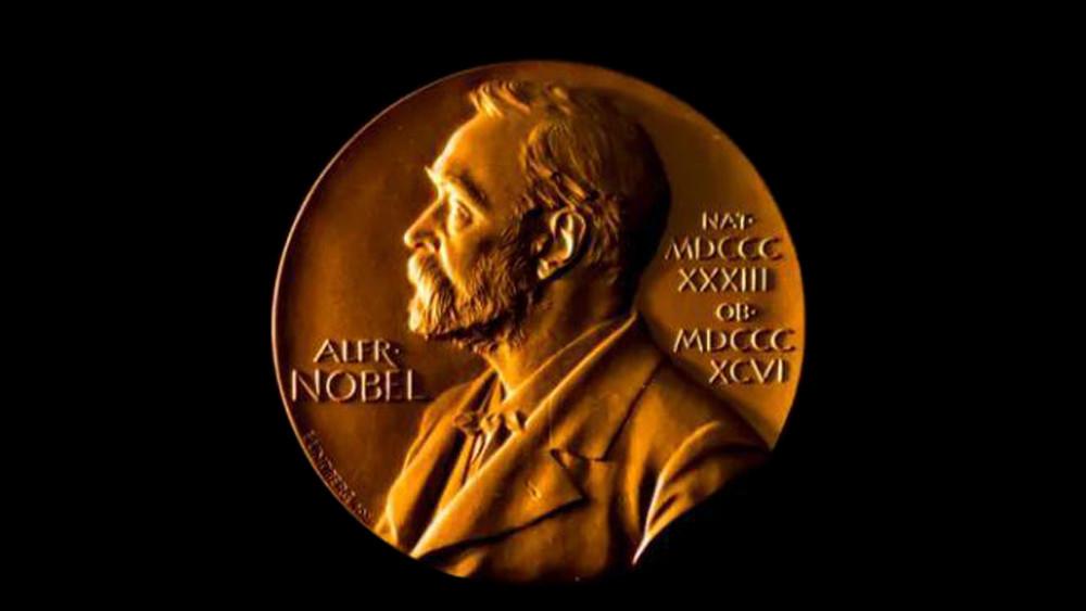 图为诺贝尔奖牌。(图片来源:诺贝尔奖官网)